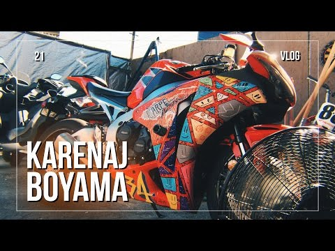 Motosiklet Karenaj Boyama ve Tamir