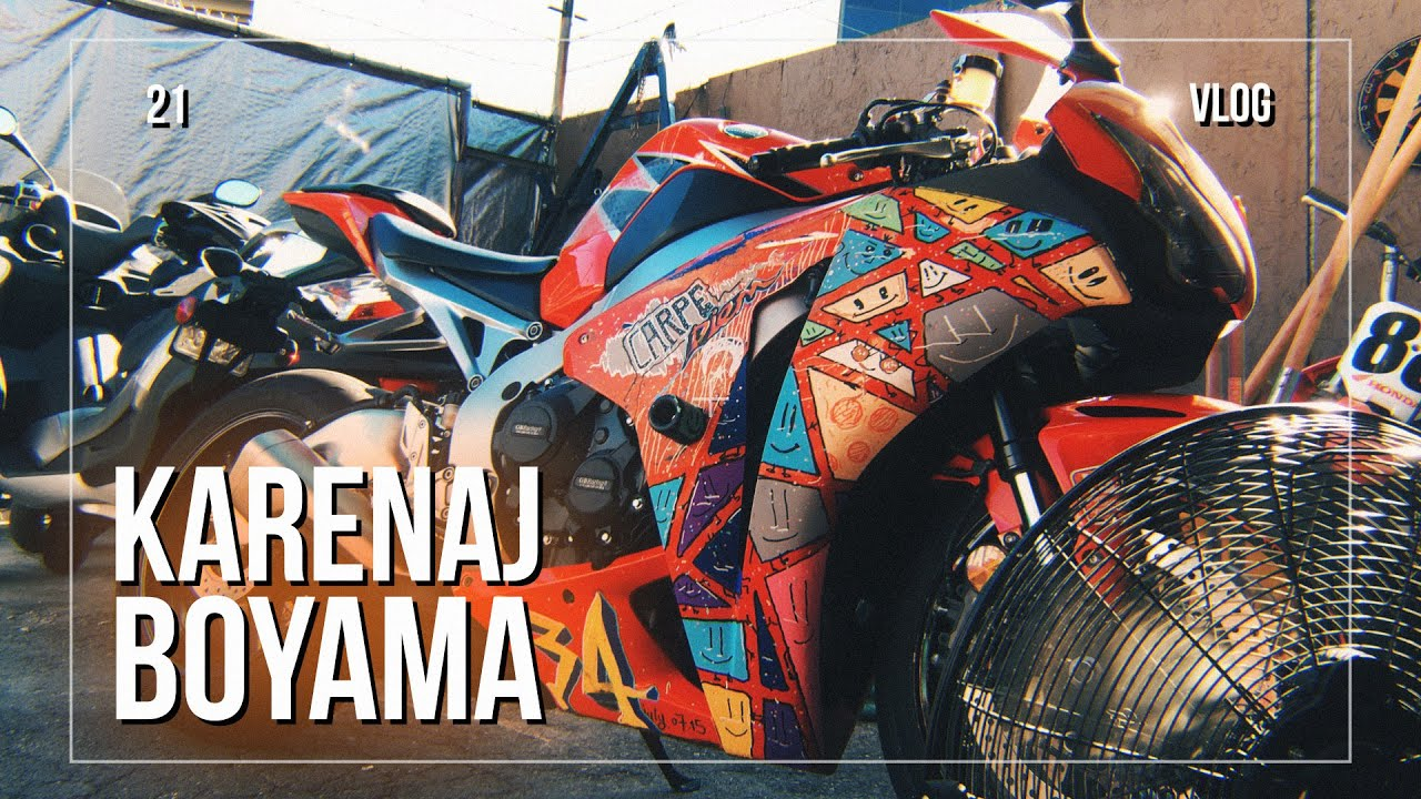 Motosiklet Karenaj Boyama Ve Tamir Youtube