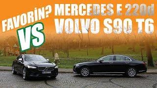 Kim daha Premium? | Mercedes Benz E220d 4Matic vs Volvo S90 T6 AWD