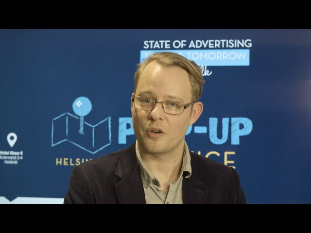 Improve Talk - State of Advertising Today & Tomorrow: Oliver Nyberg
