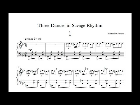 Marcello Severo - Three Dances in Savage Rhythm (2017)