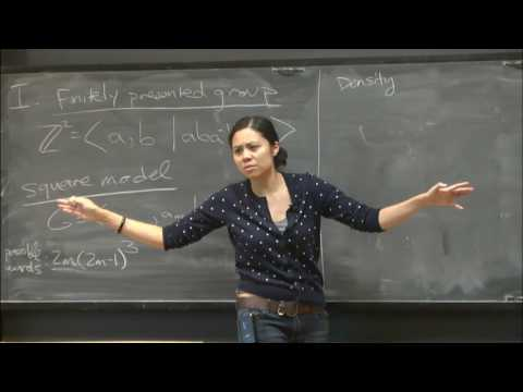 Working with the square model of random groups - Yen Duong