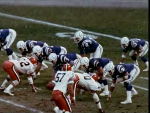 1978 Browns at Colts Game 12