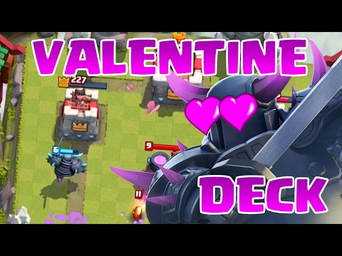 NO GIRLFRIEND? NO PROBLEM! - Clash Royale - Valentines Day Forever Alone Deck - 동영상