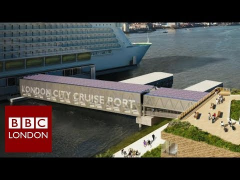 Cruise ships coming to Greenwich – BBC London News