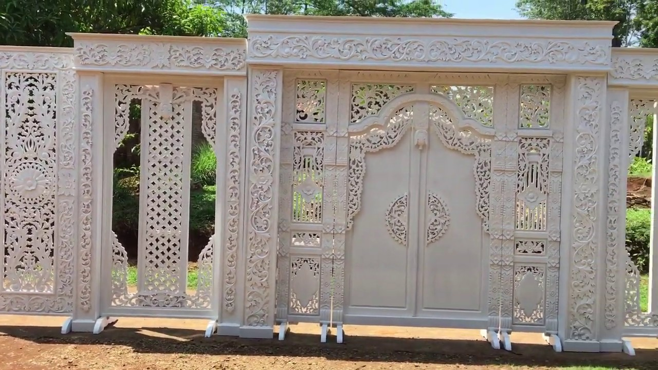 Dekorasi Pelaminan Ukiran Jepara Jual Dekorasi Pelaminan Murah Wedding Organizer