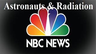NBC News: Deep space radiation hurt Apollo astronauts - Flat Earth - Mark Sargent ✅