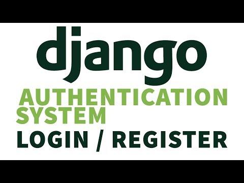 Create Simple Django Authentication System | Login And Register User |  Django 2.2 Tutorials