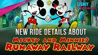 New Ride Details About Mickey & Minnie'...