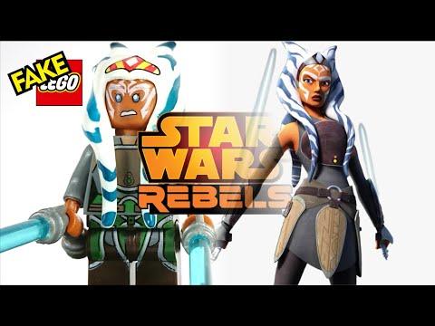 Rebels Custom Carded Mini-figure Minifigure AHSOKA TANO Star Wars