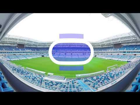 2018 FIFA World Cup: Kaliningrad Stadium (360 VIDEO)