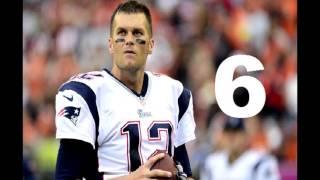 Top 10 lances do Tom Brady em 2015