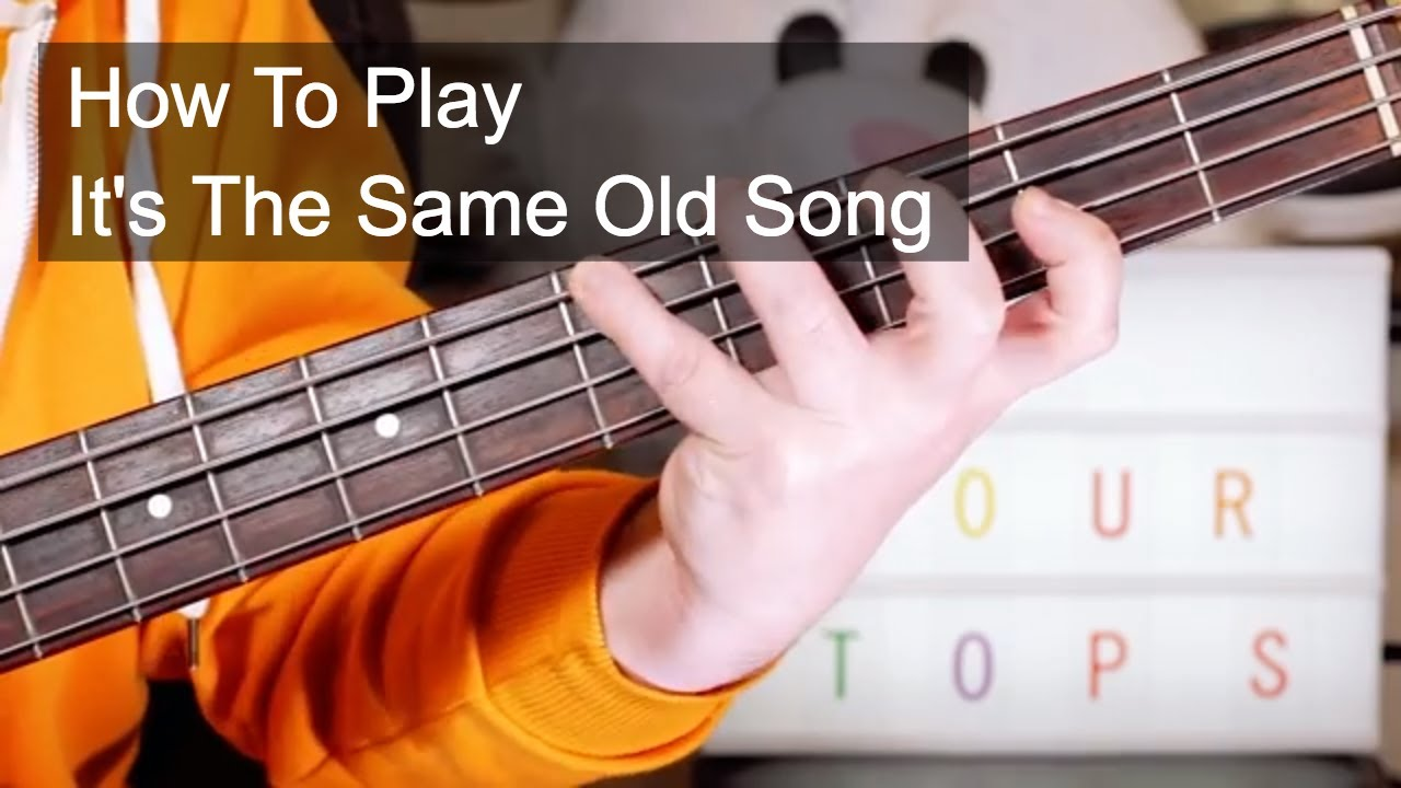 39 it 39 s the same old song 39 the four tops guitar bass lesson youtube. Black Bedroom Furniture Sets. Home Design Ideas