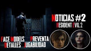 Resident Evil 2 Remake: Face Models, Versiones y contenido extra.