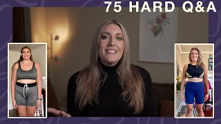 75 Hard Challenge Q&A - How I Overcame & Lost 60 Pounds During The Pandemic