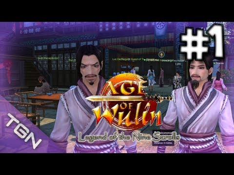 Top Free 2 Play MMORPG's 2013 – Age Of Wulin Gameplay Review Part 1