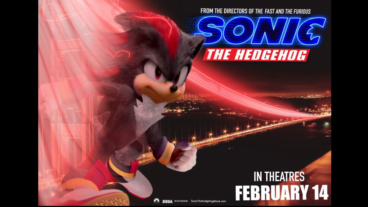 If Shadow Was In Sonic The Hedgehog 2020 Movie Youtube