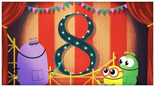 """The Number Eight,"" Number Songs by StoryBots"