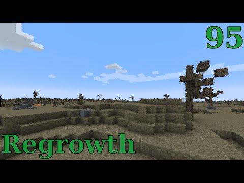 Minecraft Regrowth - Lithium Dust & Induction Matrix - S01E095