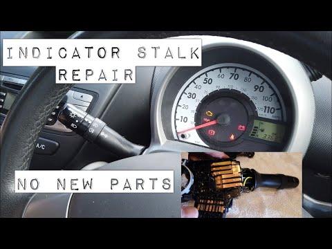 "Peugeot 107 Indicator Stalk Repair, ""No New Parts"" Same as Aygo, C1 CityBug"