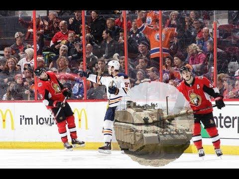 Game 73-ELIMINATED-Ottawa Senators vs Edmonton Oilers 2017-18