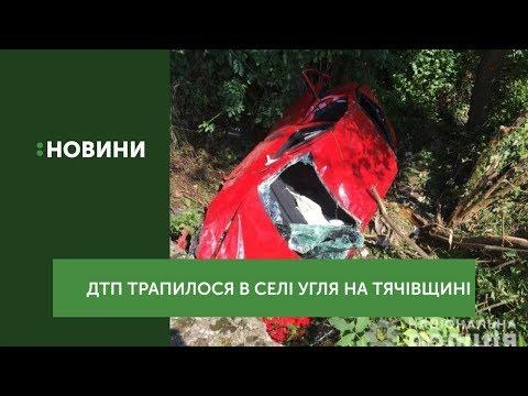 ДТП трапилося у селі Угля на Тячівщині