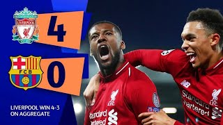 Barcelona Vs Liverpool ● 4-0 All Highlights ●Biggest Comeback In Champions League● HD