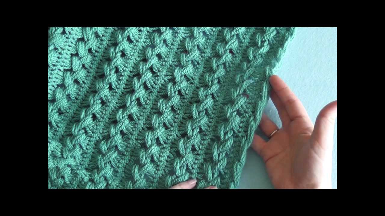 How To Hairpin Lace Finishing The Side Edges Part 4