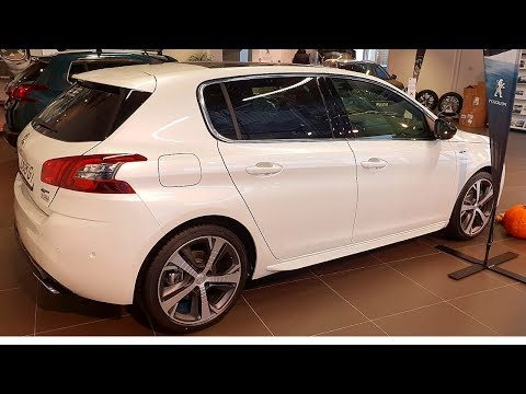 NEW Peugeot 308 GT Line 2018 Interior Review