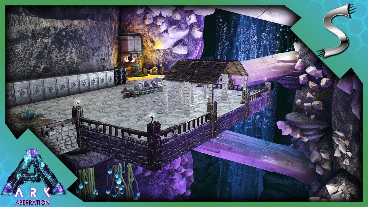 Cliff base building our new base in the bio luminescent for How to find a good builder in your area