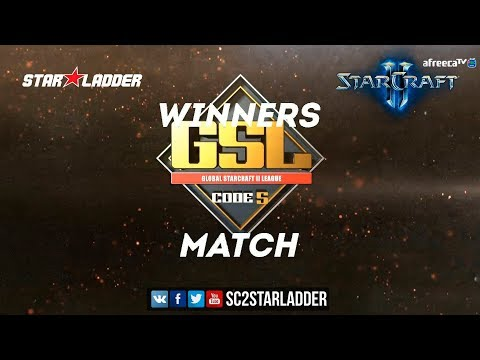 2018 GSL Season 1 Ro32 Group F Winners Match: Dark (Z) vs Tr