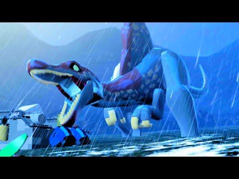 "LEGO Jurassic World Defeat The Final Boss, THE END ""Jurassic Park III"""