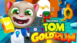 My Talking Tom Gold Run Gameplay   Android Games   Friction games