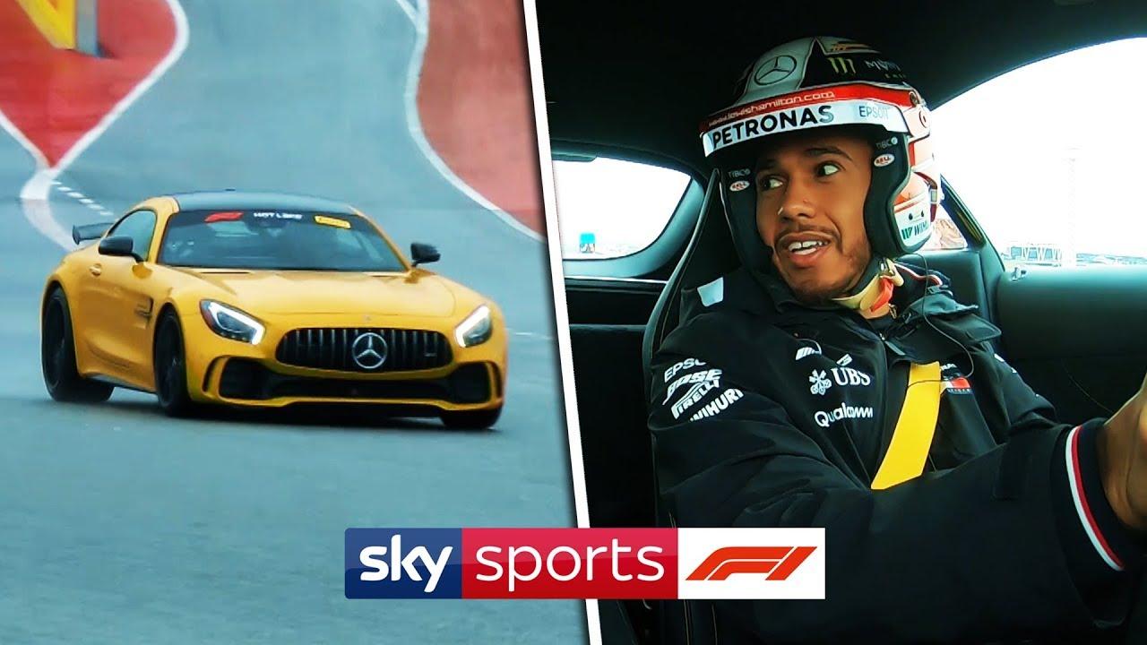 Lewis Hamilton races a Mercedes sports car around Austin | Hot Laps