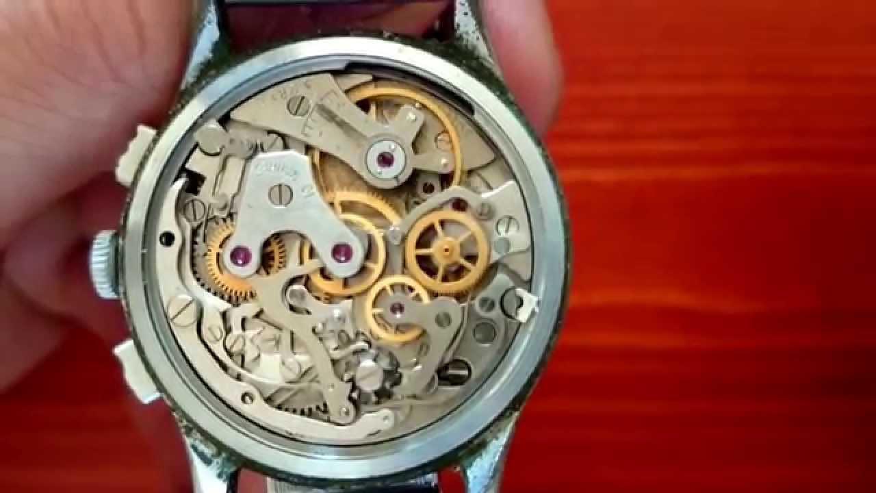 29b4f4a561fe Soviet Russian Ussr Poljot 19 Jewel 3017 Strela Cosmonauts Chronograph Watch