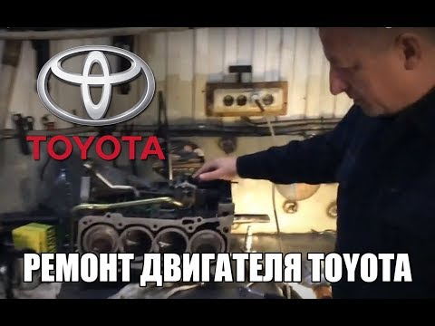 Ремонт двигателя Toyota 1AZ-FE, 1AZ-FSE, 2AZ-FE в Новосибирске