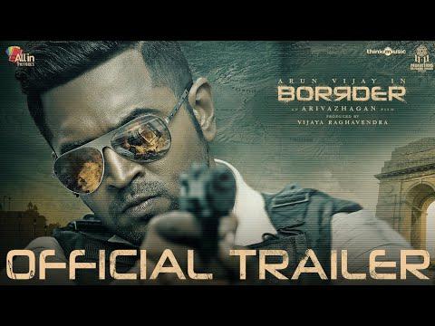ArunVijayIn Borrder - Official Trailer   Arun Vijay, Regina Cassandra, Stefy   Arivazhagan   Sam CS