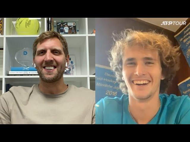 In Conversation: Dirk Nowitzki & Alexander Zverev