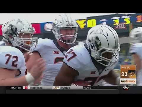 Oklahoma State vs West Virginia Football Highlights