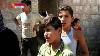 Шокирующее видео  Последствия налетов авиации США в Сирии. Первый канал. Время. 03.08.2016