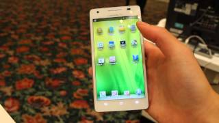 docomo Huawei Ascend D2 HW-02E Hands on!!