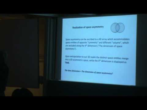 Meir Shinitzky (Weizmann Insitute, Israel): Global Asymmetry Of Space And Time