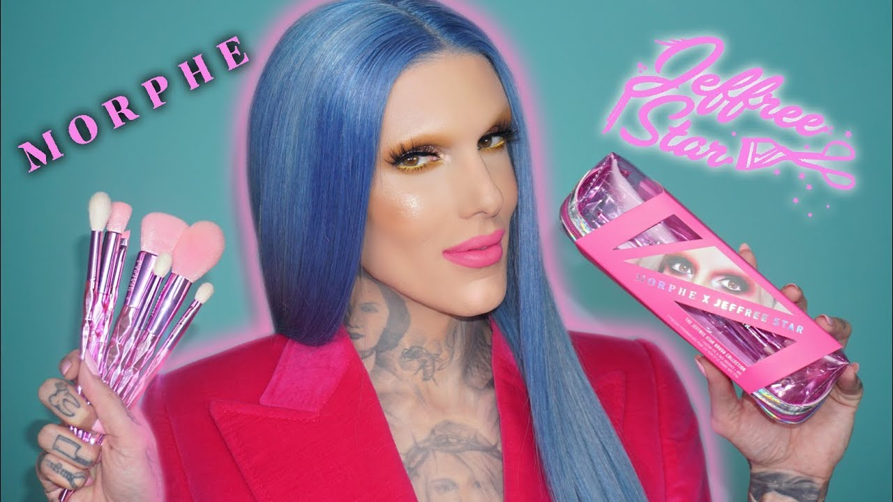 Jeffree Star Unveils His First Collaboration With Morphe