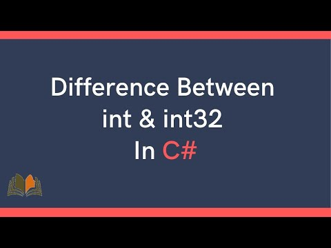 Difference Between Int and Int32 in C#