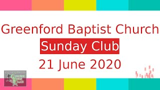 Sunday Club - 21 June 2020
