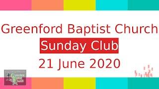 Sunday Club - 21 June 2020