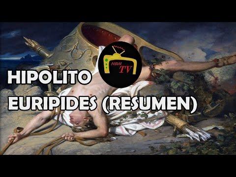 HIPOLITO - EURIPIDES (resumen, reseña y análisis libro completo)