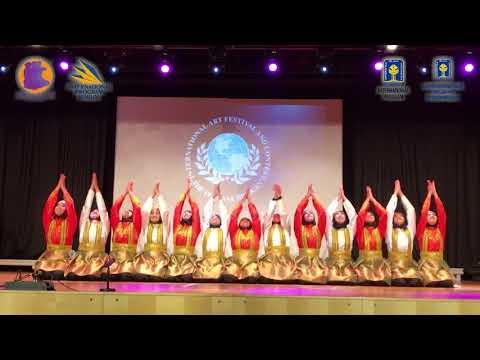 IPDC UII: Tari Ratoh Jaroe Raih GRAND PRIX Di Vienna Austria