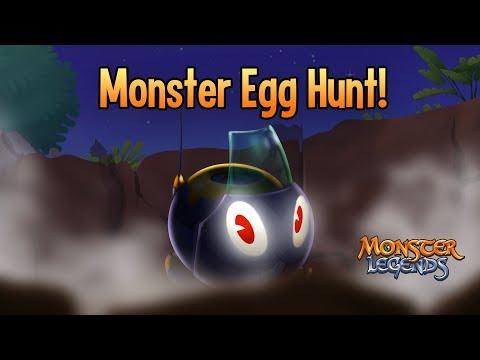 Monster Egg Hunt: Rabooka brings the heat to Monster Legends!