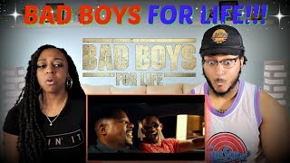 """""""BAD BOYS FOR LIFE"""" Official Trailer REACTION!!!"""